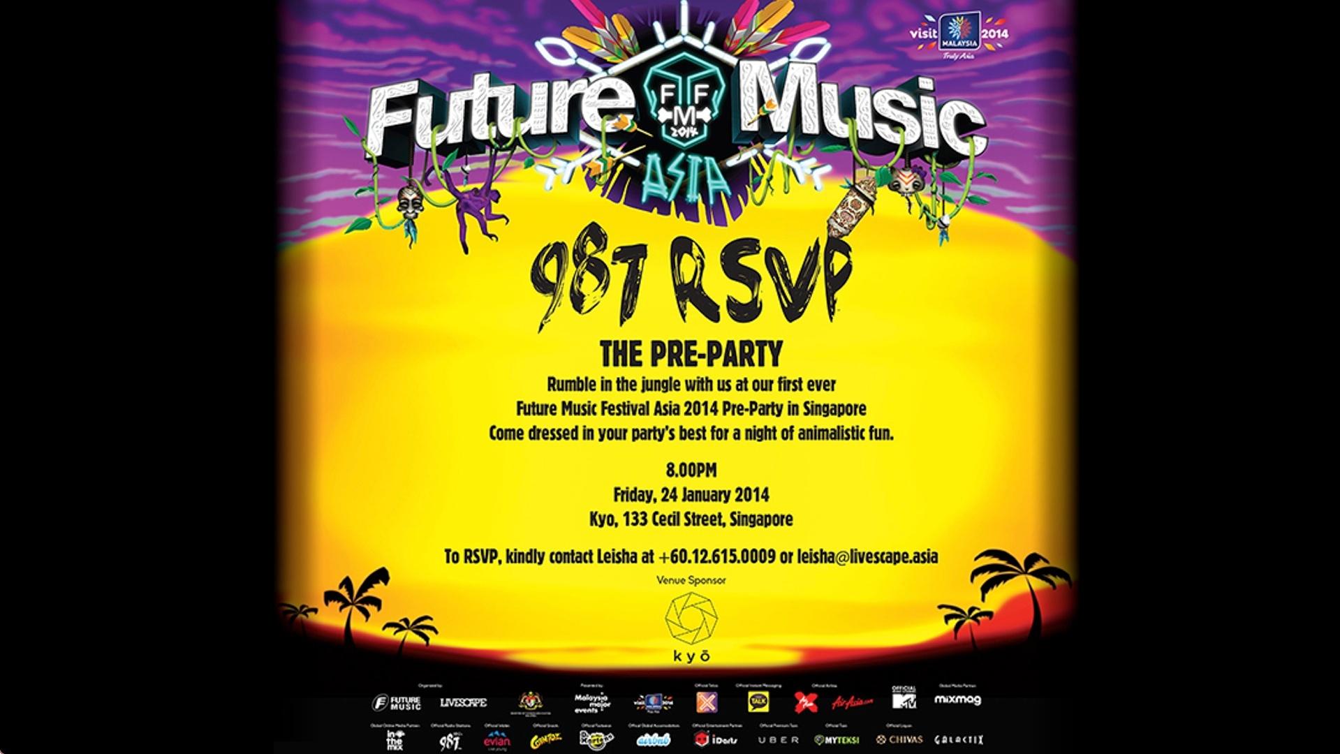 FMFA: The Pre-Party