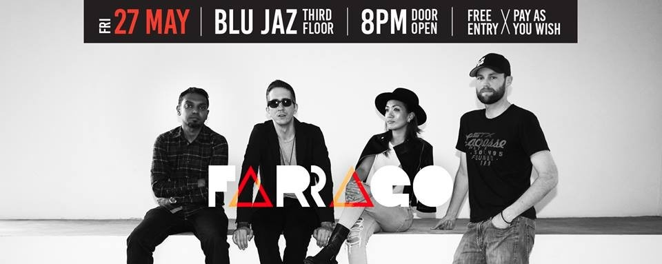 FARRAGO Album Launch Party at Blu Jaz