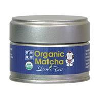 Organic Matcha from Den's Tea