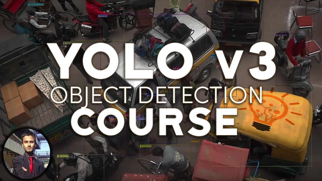 YOLO v3 - Robust Deep Learning Object Detection in 1 hour
