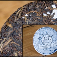 2015 Lord of the Lakes Shou Pu-erh Cake from Whispering Pines Tea Company