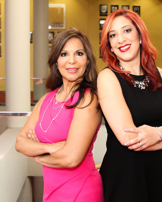 Carmen y Vanessa