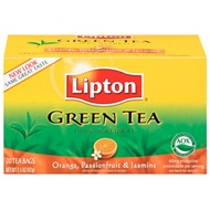 Orange and Passion Fruit & Jasmine from Lipton