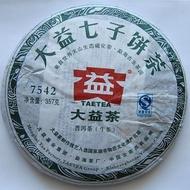 2011 Dayi 7542 Pu-erh Tea Cake from PuerhShop.com