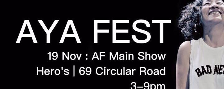Aya Fest (AF) 18 & 19 November