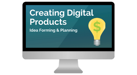 how to create digital products and services to sell on your blog