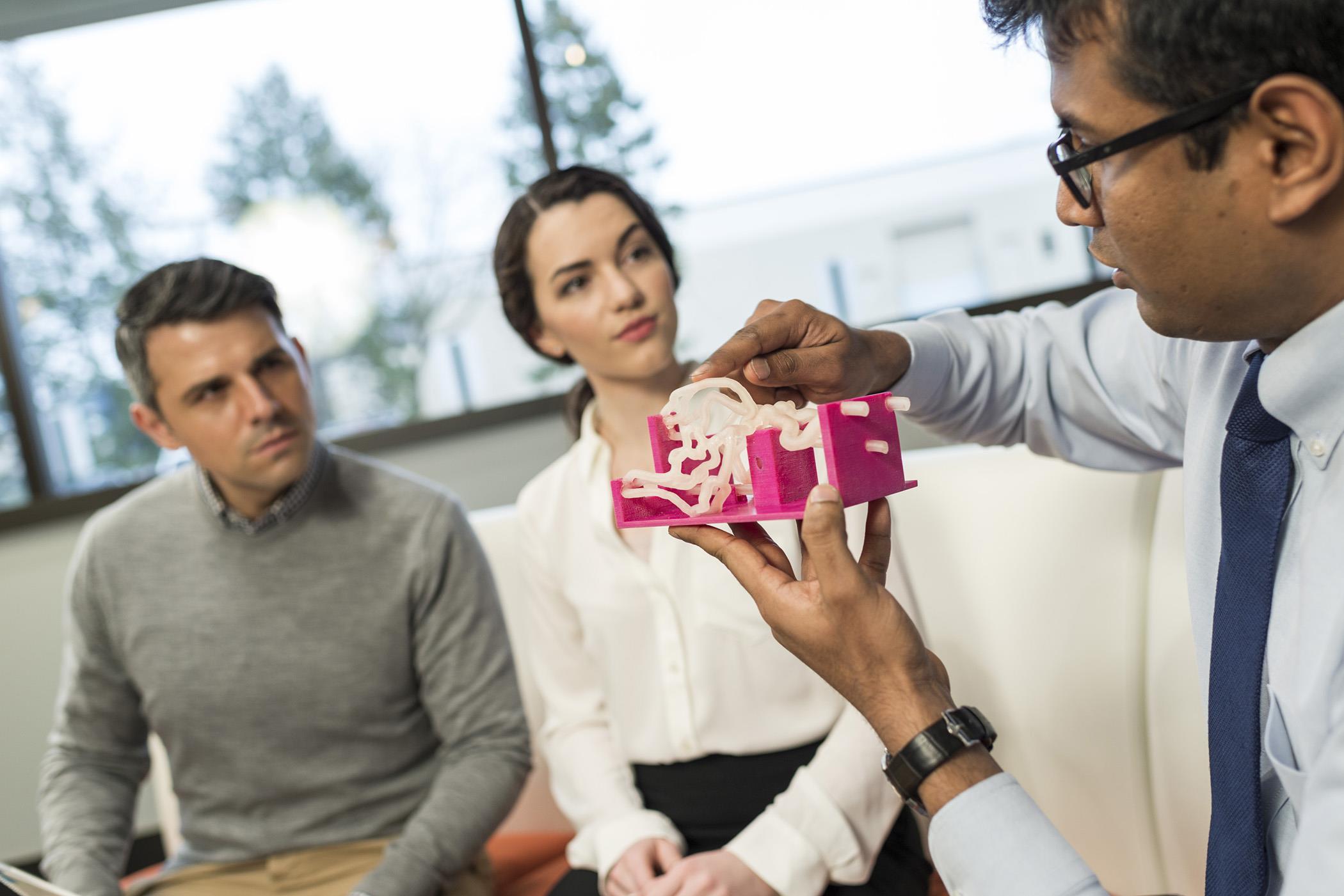 Modelos 3D en consultorios, clínicas y hospitales