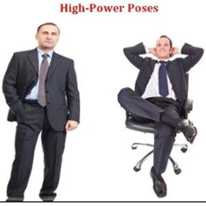 high status body language