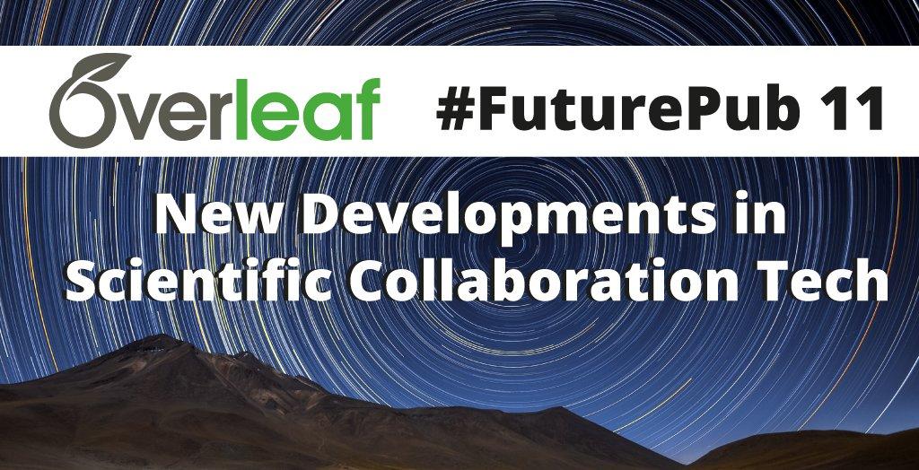 Overleaf FuturePub 11 banner