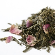 Japanese cherry green tea with flowers from Kensington Tea Co.