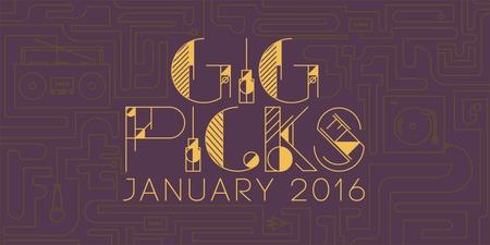 Bandwagon Gig Picks: January 2016