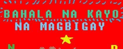 Bahala NA KAYO (na magbigay ngayong pasko)