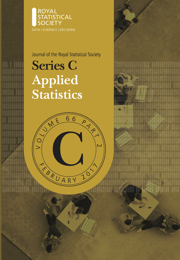 Template for submissions to Journal of the Royal Statistical Society: Series C (Applied Statistics)