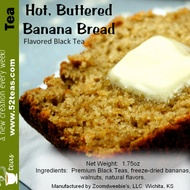 Hot Buttered Banana Bread from 52teas