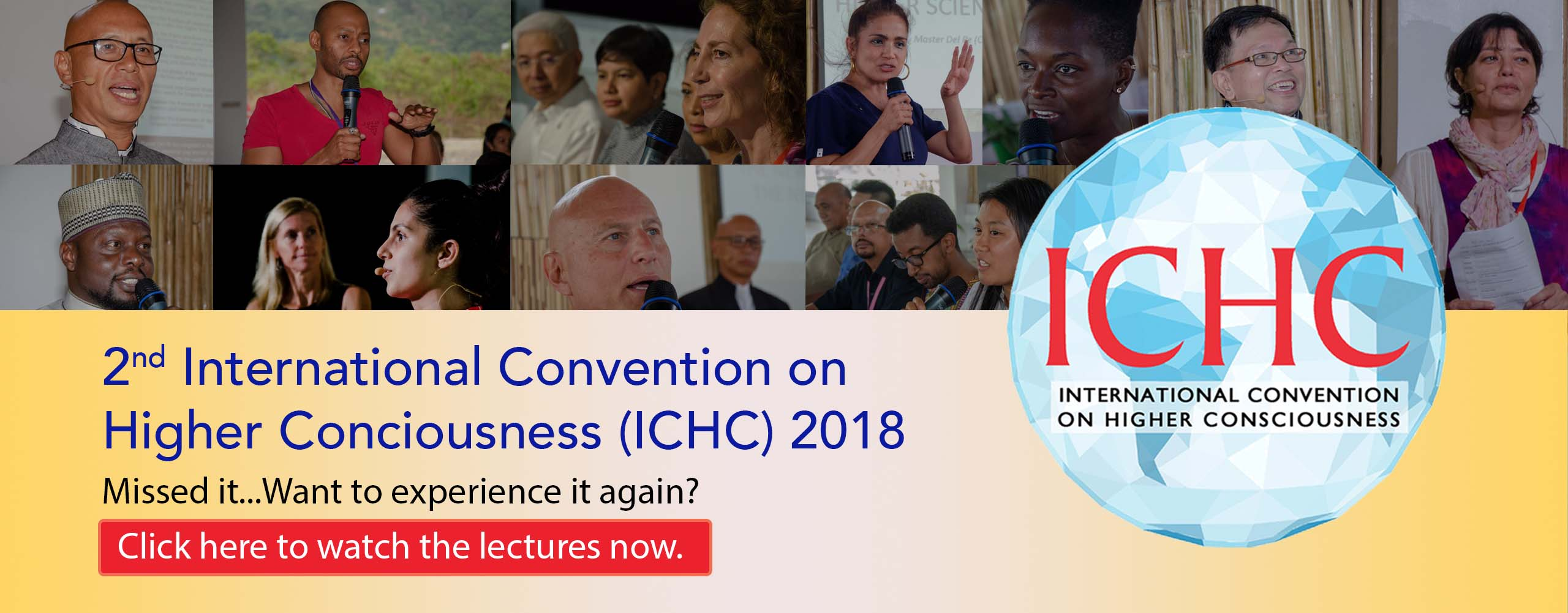 2nd ICHC 2018 Lectures