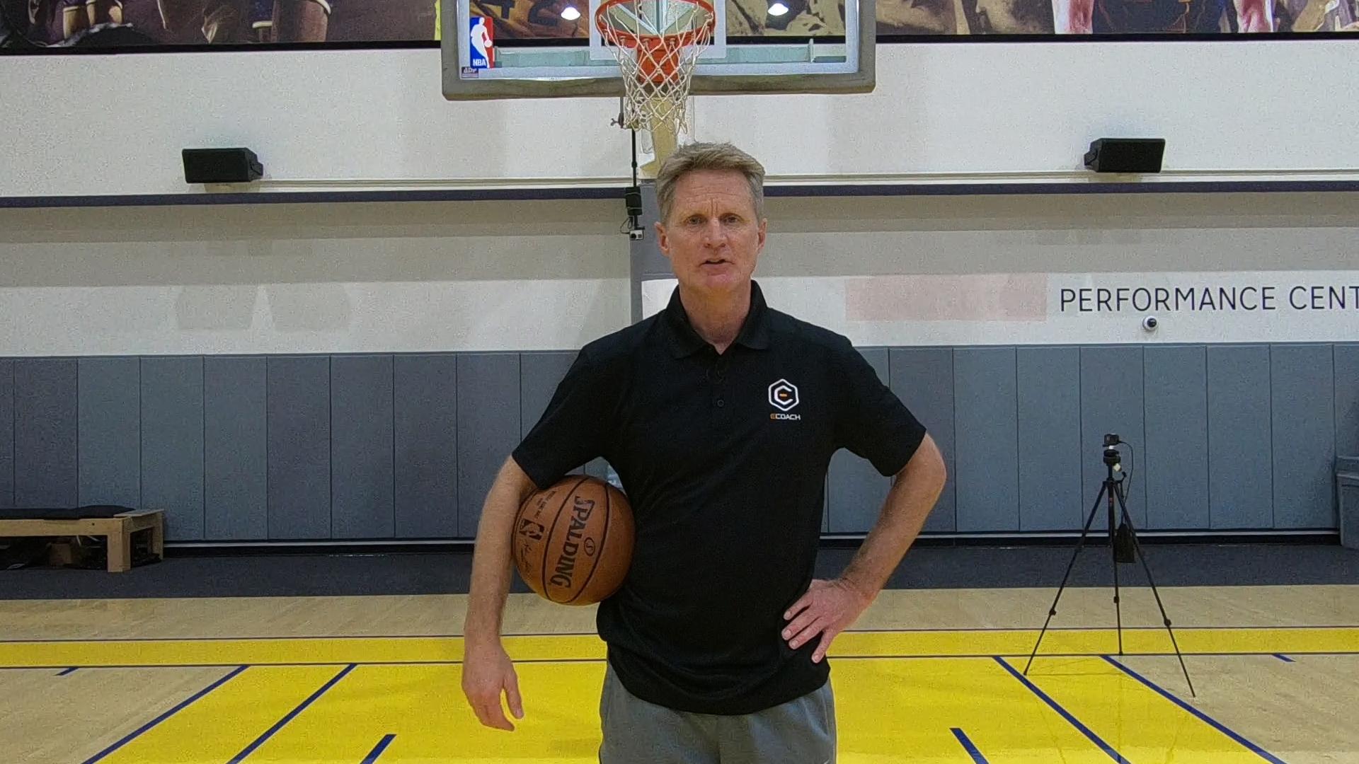 Steve Kerr NBA Coach Golden State Warriors