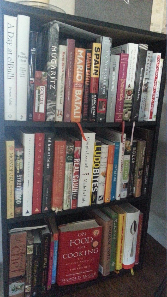 Chefsteps community beta my main shelf ive got a couple dozen other books scattered throughout the house fandeluxe Gallery
