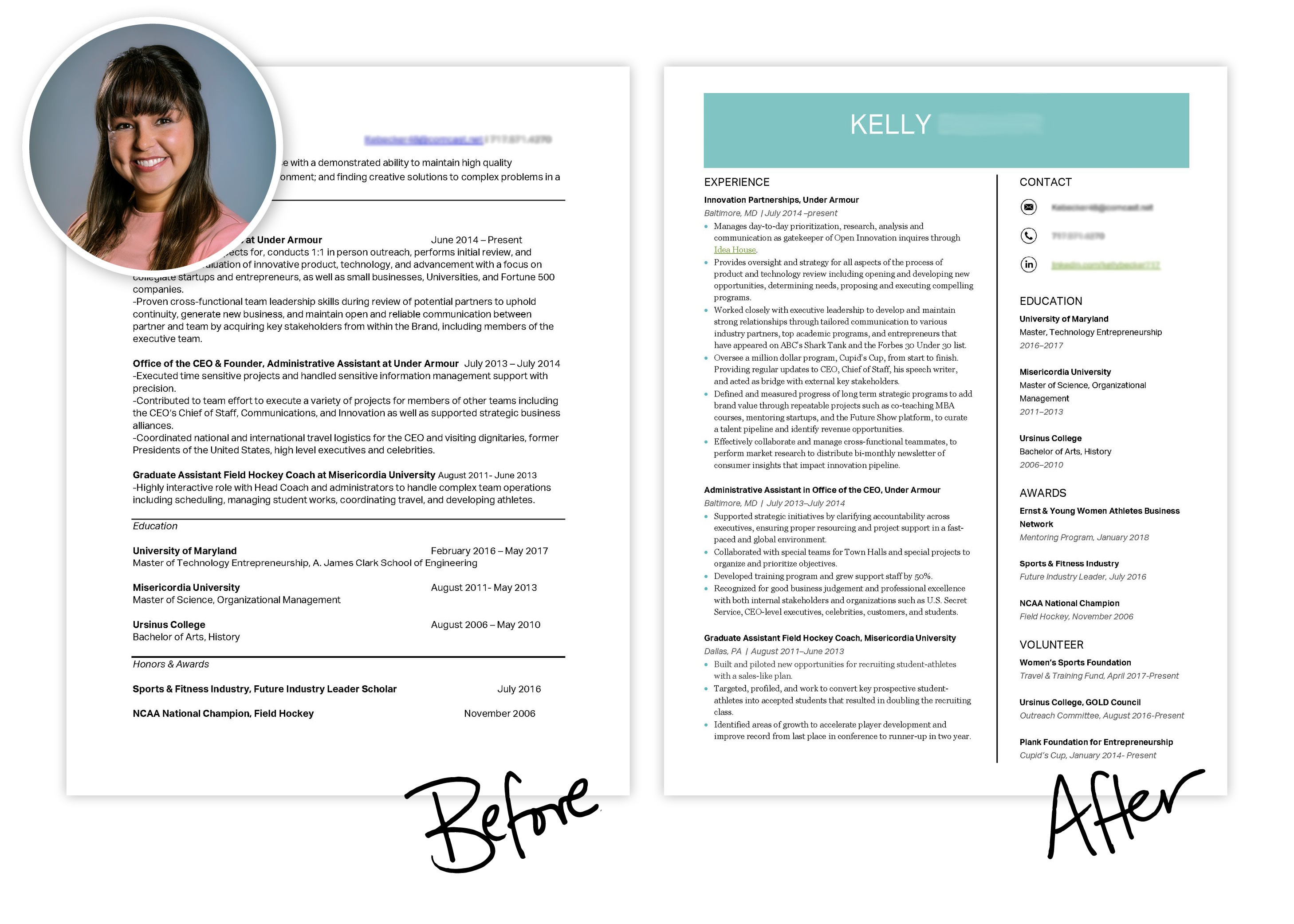 Resume Makeover Template  Career Contessa