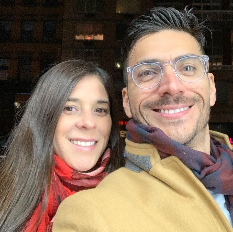 Mayte Moncada y Dr. Mauricio González
