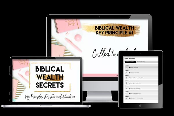 Biblical Wealth Secrets