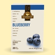 Blueberry Herbal from Second Cup