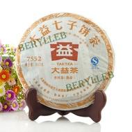 2012  Menghai Dayi 7552 Natural Fine Ripe Pu'er Tea from Menghai Tea Factory(from berylleb ebay)