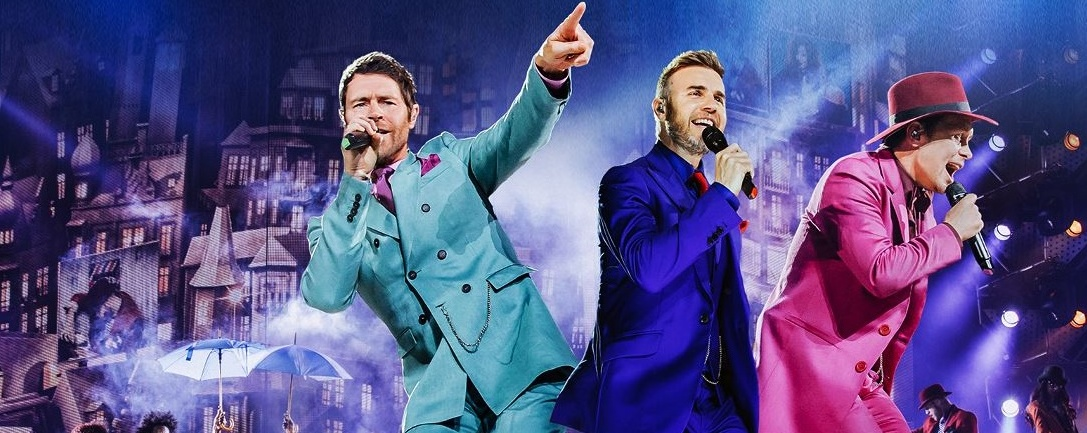 Take That - Live in Singapore 2016