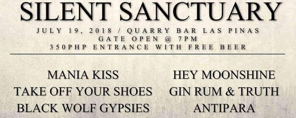 Silent Sanctuary Live at Quarry Bar
