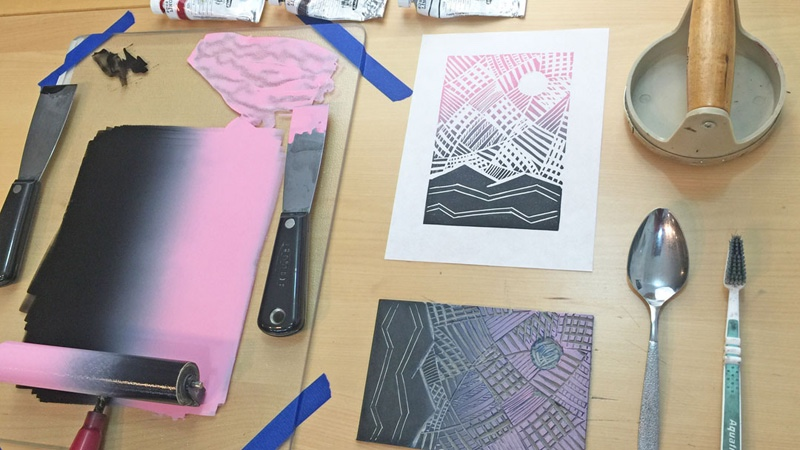 How to Linocut Course