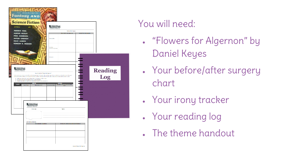 Teaching Notes
