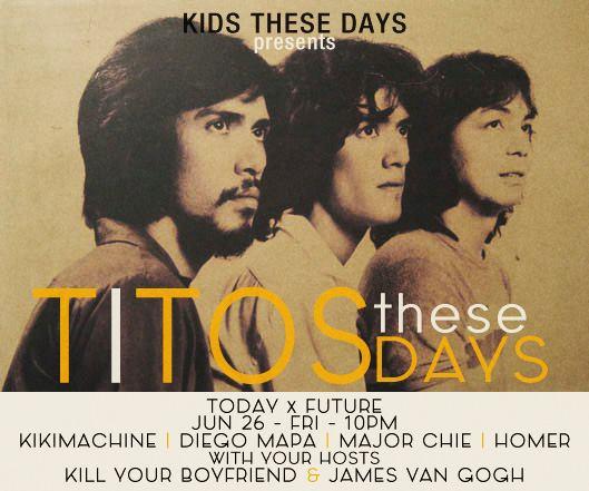 TITOS THESE DAYS