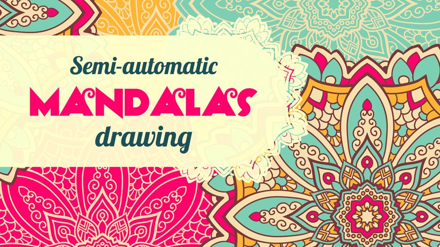Learn Adobe Illustrator: Semi-Automatic Mandalas Drawing