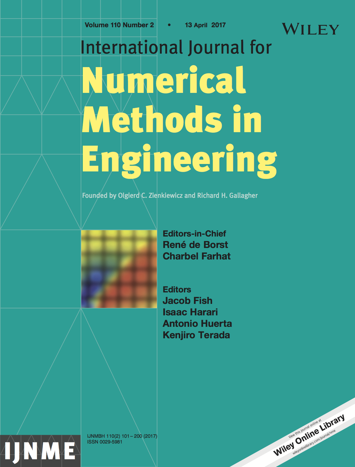 Template for submissions to International Journal for Numerical Methods in Engineering
