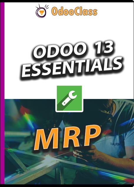 Odoo 13 Essentials - MRP
