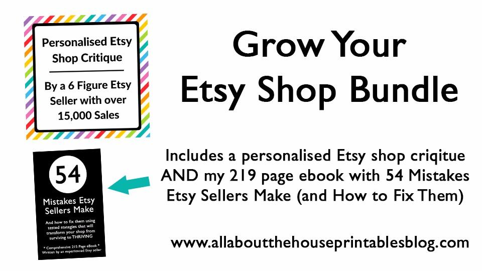 f824ab3d02e02 Grow Your Etsy Business Bundle   Build a Bigger Online Business