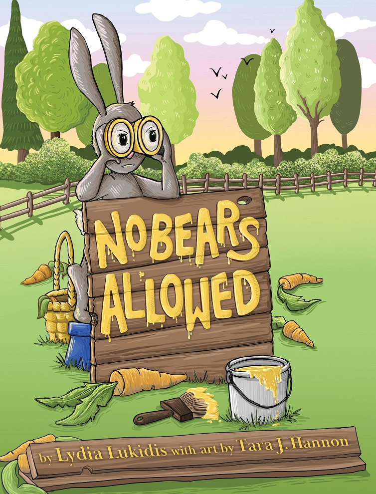 A Copy Of No Bears Allowed By Lydia Lukidis