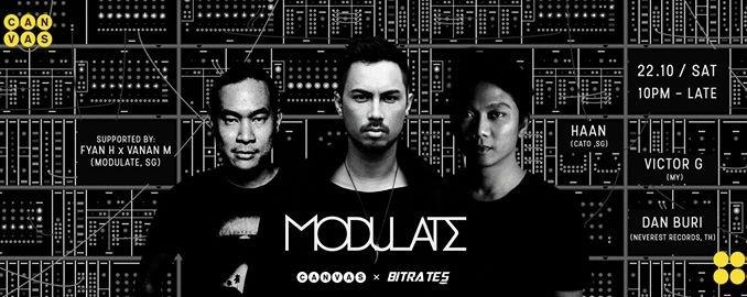Canvas x Bitrates: Modulate ft. Dan Buri, Victor G & Haan
