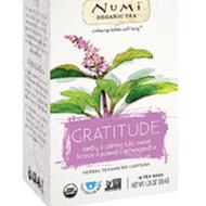 Gratitude from Numi Organic Tea