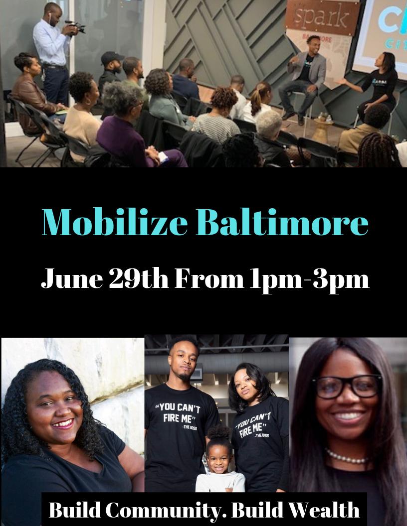 Kyara – Mobilize Baltimore Meetup! – June 29
