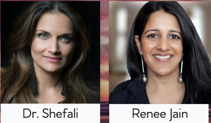 Dr. Shefali & Renee Jain
