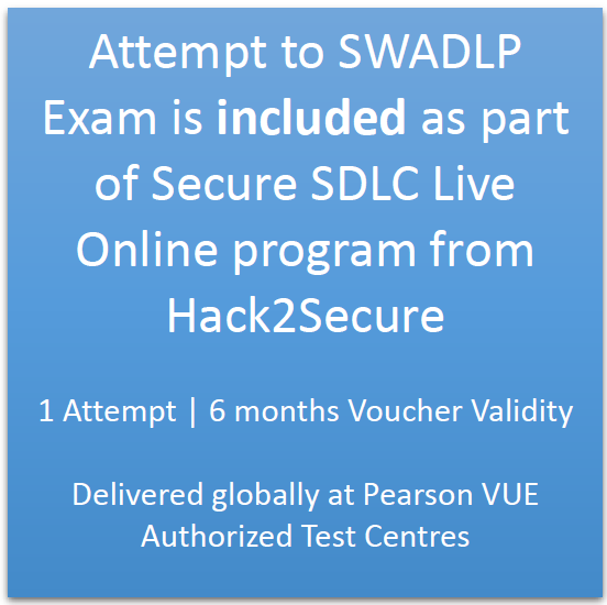 Live Online Training Secure Software Development Life Cycle