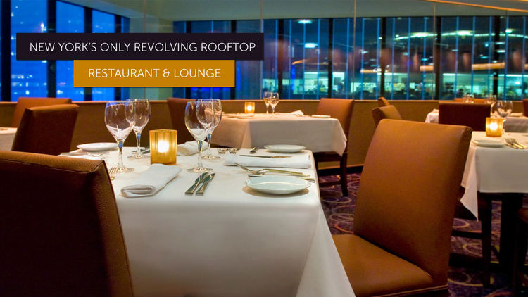 Dinner at The View Restaurant & Lounge: New York