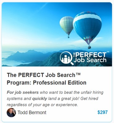 The Perfect Job Search Professional Edition