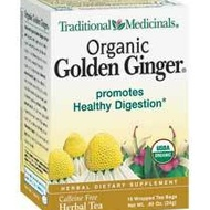 Organic Golden Ginger from Traditional Medicinals
