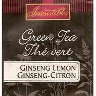 Green Tea -- Ginseng Lemon from Irresistibles