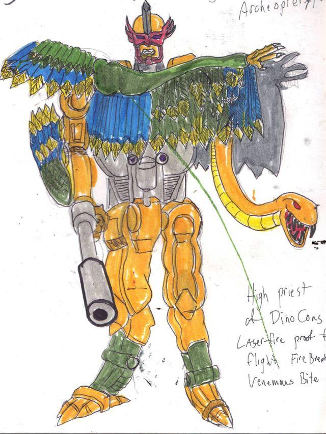 image: AIR RAPTOR: ROBOT MODE