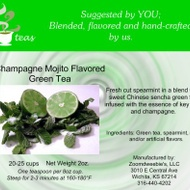 Champagne Mojito Green from 52teas