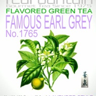 1765 Flavored Green Tea Famous Earl Grey Lavender Style from TeaFountain