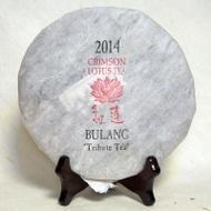2014 Crimson Lotus Bulang Shan Tribute Tea from Crimson Lotus Tea
