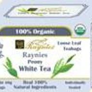 Premium Peony White Tea from Raynies
